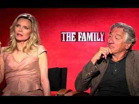 The Family - Robert De Niro & Michelle Pfeiffer Interview