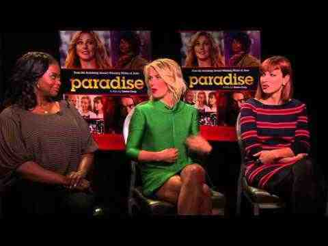 Paradise - Julianne Hough, Octavia Spencer, Kathleen Rose Perkins Interview
