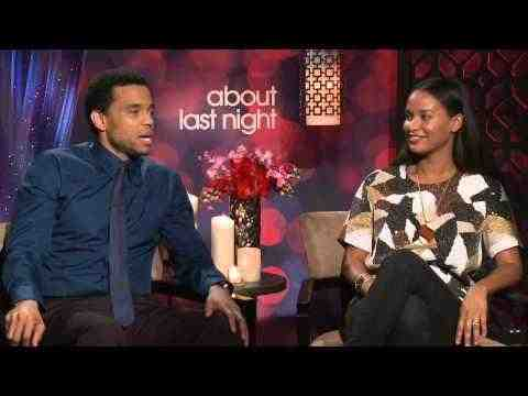 About Last Night - Michael Ealy & Joy Bryant Interview