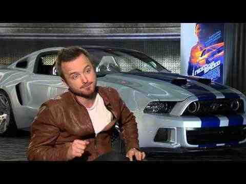 Need for Speed - Aaron Paul Interview