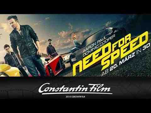Need for Speed - trailer 3