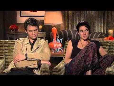The Fault in Our Stars - Shailene Woodly & Ansel Elgort Interview