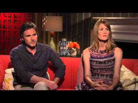 The Fault in Our Stars - Laura Dern & Sam Trammell Interview