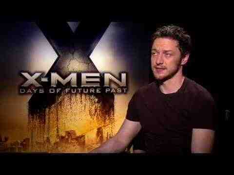 X-Men: Days of Future Past - James McAvoy Interview
