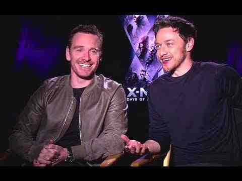 X-Men: Days of Future Past - Michael Fassbender & James McAvoy Interview