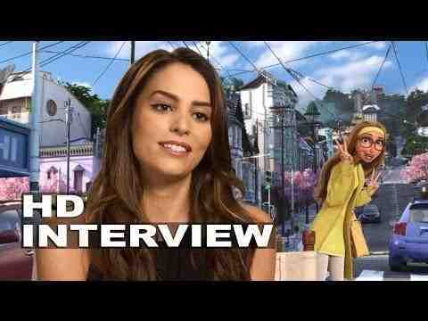 Big Hero 6 - Genesis Rodriguez Interview