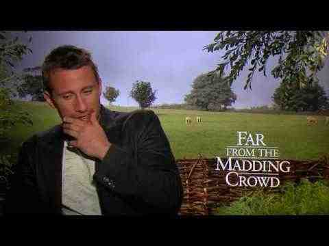 Far from the Madding Crowd - Matthias Schoenarts Interview
