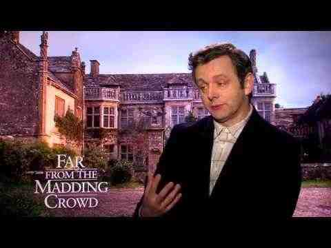 Far from the Madding Crowd - Michael Sheen Interview