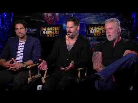 Magic Mike XXL - Joe Manganiello, Adam Rodriguez, & Kevin Nash Interview
