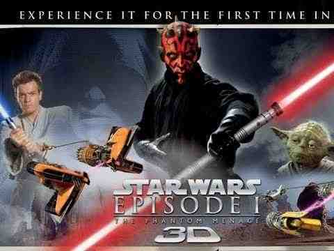 Star Wars: Episode I - Die dunkle Bedrohung 3D - trailer
